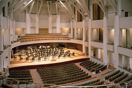 Dekelboum Concert Hall at the Clarice Smith Performing Arts Center at the University of Maryland